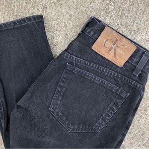 black 90s Calvin Klein Jeans